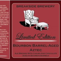 Breakside Brewery Rolls Out Bourbon Barrel-Aged Aztec