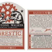 Firestone Walker Barrelworks Agrestic Release TOMORROW