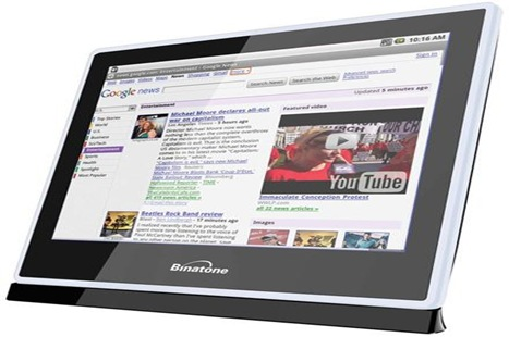 Olivepad Olive Telecom Dell Streak Binatone Home Surf Binatone $35 tablet PC 