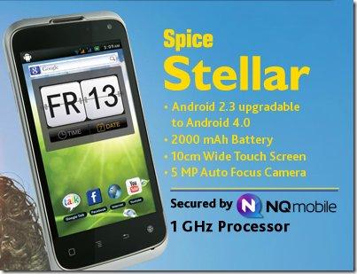 Stellar Craze Mi 355 spice mobiles Spice Group dual sim android phone