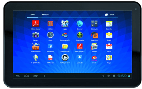 top tablets Top 5 tablets ICS ice cream sandwich Android ICS tablets