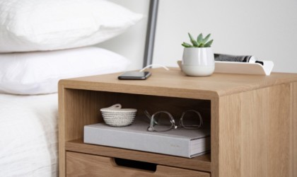 Artifox Side Table with Storage