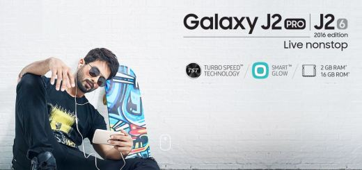 Official: Samsung Galaxy J2 Pro with 2GB RAM, 16GB Built-in Storage and Smart Glow