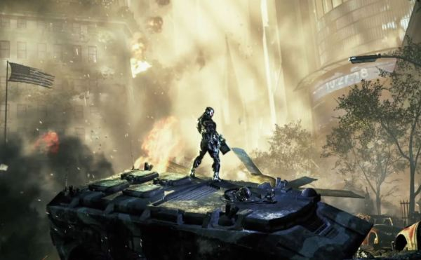 C2 TV TankDestruction1 600x371 Crysis 2 Official Launch Trailer (Must see!)