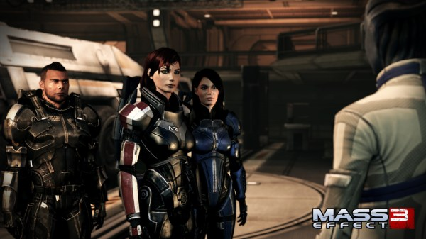 Mass Effect 3 Femshep Crew 600x337 Feast Your Eyes (Finally) on the #FemShepFriday Trailer