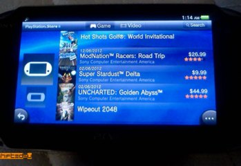 PS Vita US Store