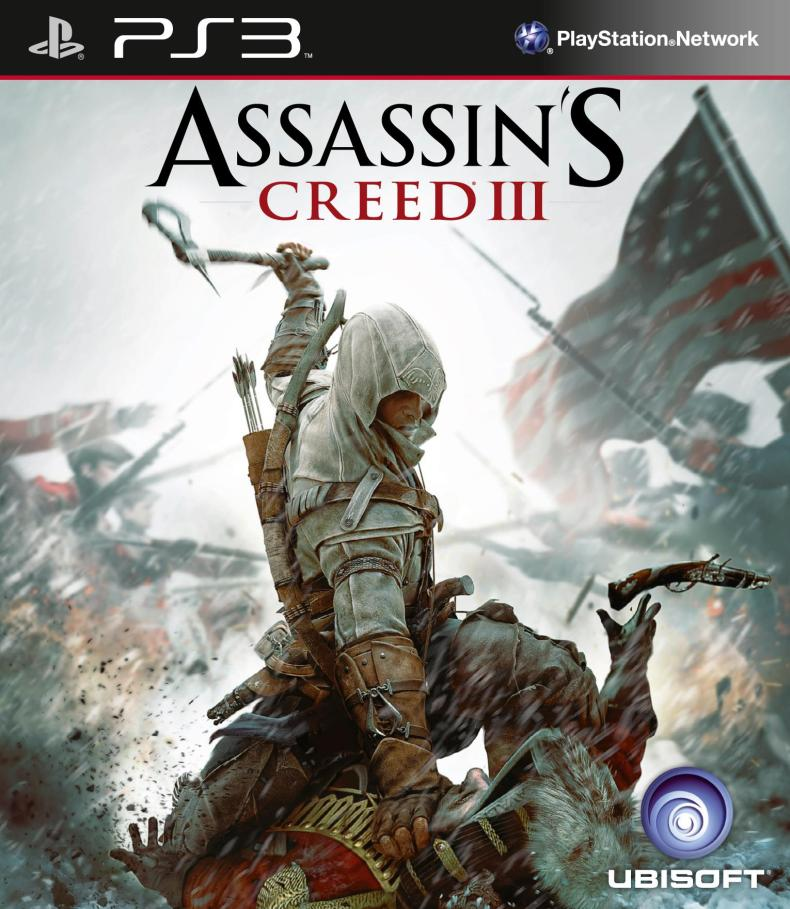 Assassin's Creed III Packshot PS3