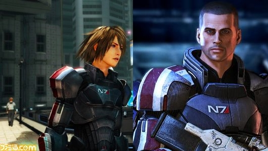 sidebyside Final Fantasy XIII 2 Meets Mass Effect Via New DLC
