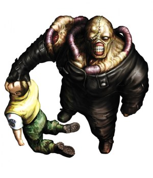 936full resident evil 3 nemesis artwork 300x350 Fanatical Five: Top 5 Ugliest Video Game Bosses of All Time