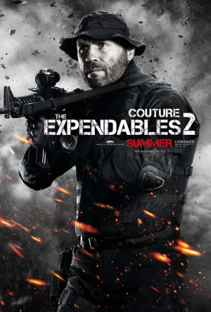 Couture 300x444 Debut of The Expendables 2 Character Posters