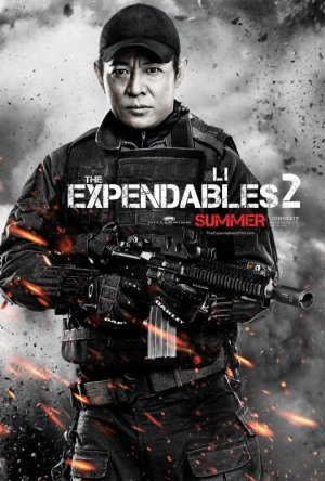 Li 300x444 Debut of The Expendables 2 Character Posters