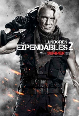 Lundgren 300x444 Debut of The Expendables 2 Character Posters