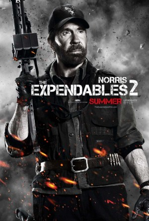 Norris 300x444 Debut of The Expendables 2 Character Posters