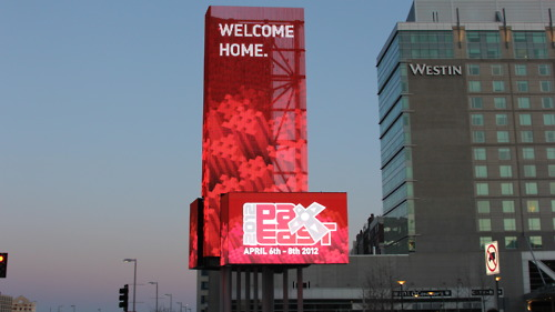 PAX EAST 2012 - SIGN
