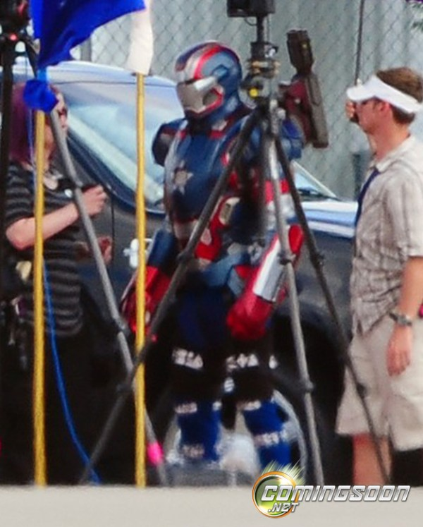 Iron Patriot Iron Man 3 600x747 The Iron Patriot to Take the Stage in Iron Man 3