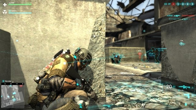 teamwork Ghost Recon Online: Beta Impressions