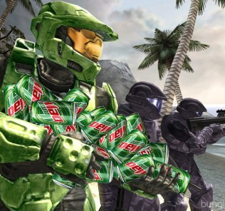 Mountain Dew Halo
