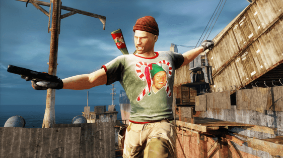 2012 U3 Holiday Elf Uncharted 3 Receives a Festive Update For the Holidays