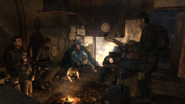 metro characters Metro 2033: An Attention Worthy FPS