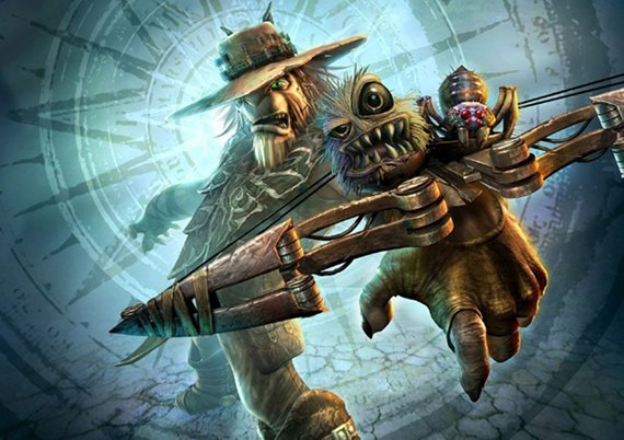 Oddworld Strangers Wrath Stranger Crossbow Fanatical Five | Top Five Most Ridiculous Weapons In Gaming (Watch!)