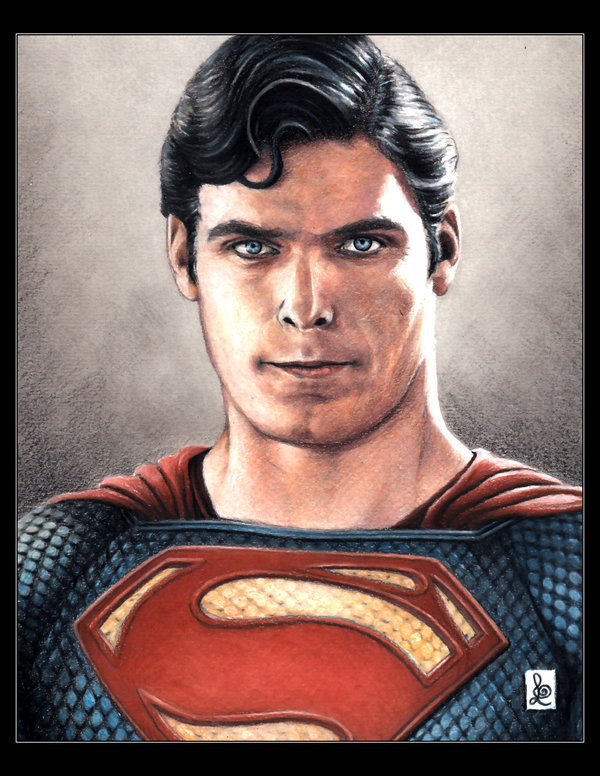 christopher reeve  superman by louissollune d6p6xzm Artist to Watch | Louis Sollune and his Fanatical Portraits