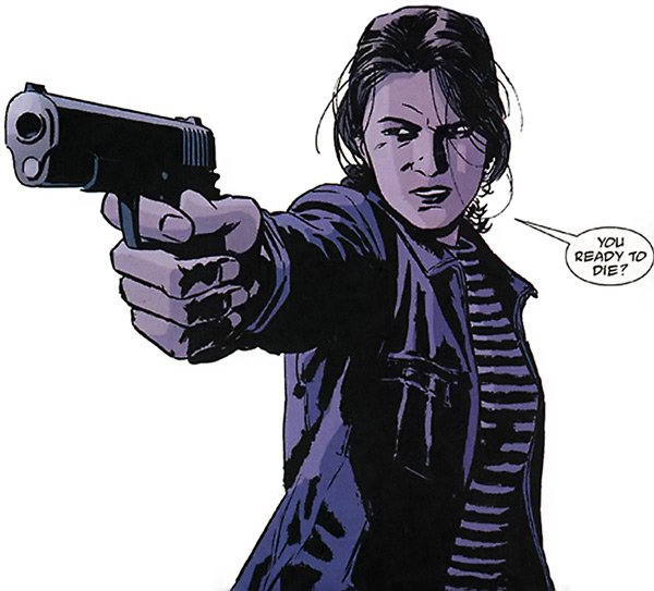 renee montoya Comics and the Gender Gap