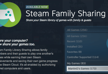 Steam Family Sharing now available to the world