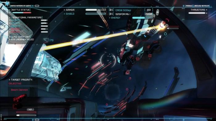 Strike Three 700x393 Strike Suit Zero Review   Defying Gravity