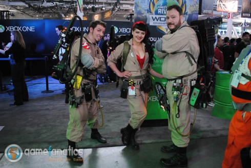 PAX East 2014 Ghostbusters Cosplay 700x469 PAX East 2014 | Game Fanatics PAX East Cosplay Roundup