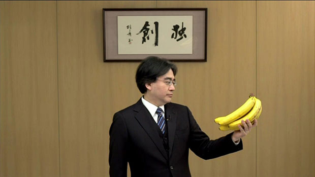 wii u bananna iwata1 How Nintendo Almost Got Me to Buy a Wii U After E3 2014