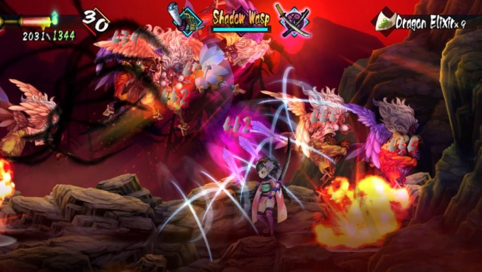 172115 muramasa tons of enemies 700x396 PS Vita Spotlight | Muramasa Rebirth