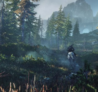 8_Riding_horseback-Geralt_can_admire_the_beautiful_vistas_of_the_morning_sun_shining_down_on_the_island_of_Ard_Skelligjpg-noscale