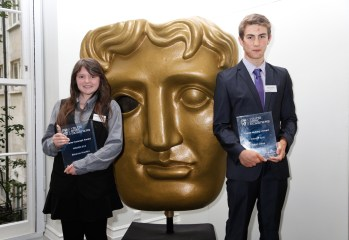 Winners of the BAFTA Young Game Designers Competition, courtesy of BAFTA