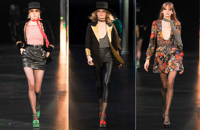 Saint_Laurent_The_Garage_Starlets_Paris_Fashion_Week_Spring_Summer_SS_2015_Ready_To_Wear_Collection_12
