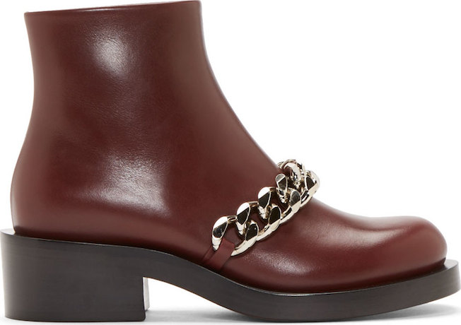 The_Garage_Starlets_Bordeaux_Burgundy_Givenchy_Chain_Laura_Boots_04
