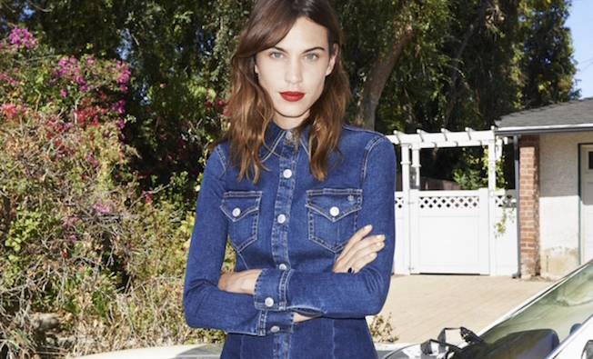 Shop Alexa Chung's Jeans Collection