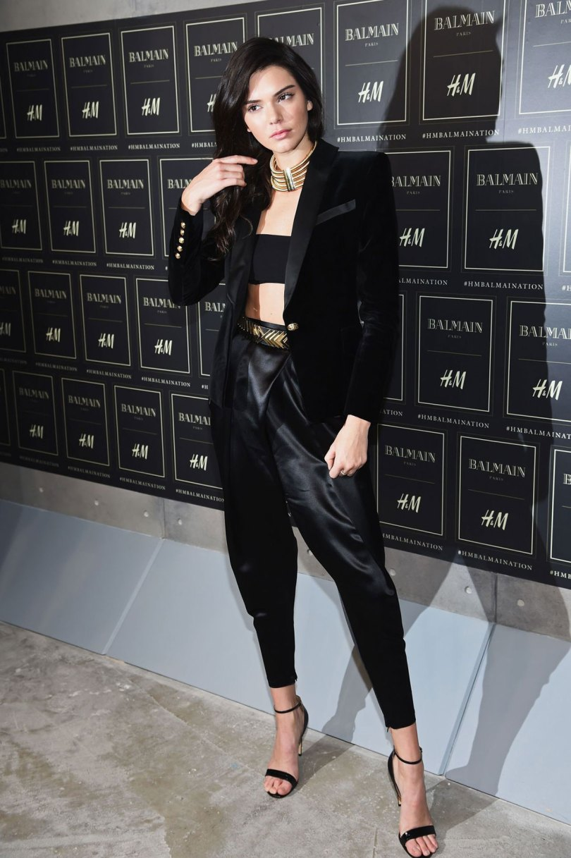 The_Garage_Starlets_Balmain_X_H&M_Giveaway_Blazer_Kendall_Jenner_Olivier_Rousteing_Gigi_Hadid_06