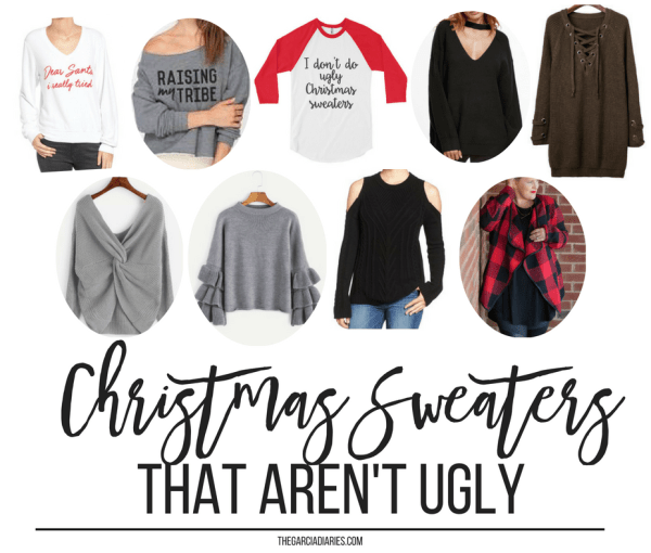 9 Christmas Sweaters That AREN'T Ugly + $500 Giveaway