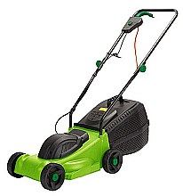 The garden tool shed aldi essential 32cm electric mower for Aldi gardening tools 2015