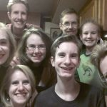 Family selfie after our concert in Carthage, MO.