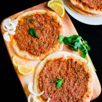 Turkish Lamb Lahmacun and Camden Market