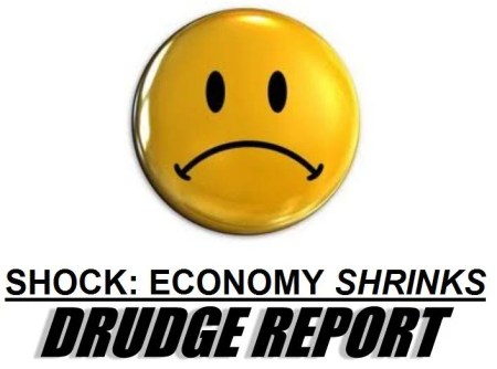 obama economy shrinks