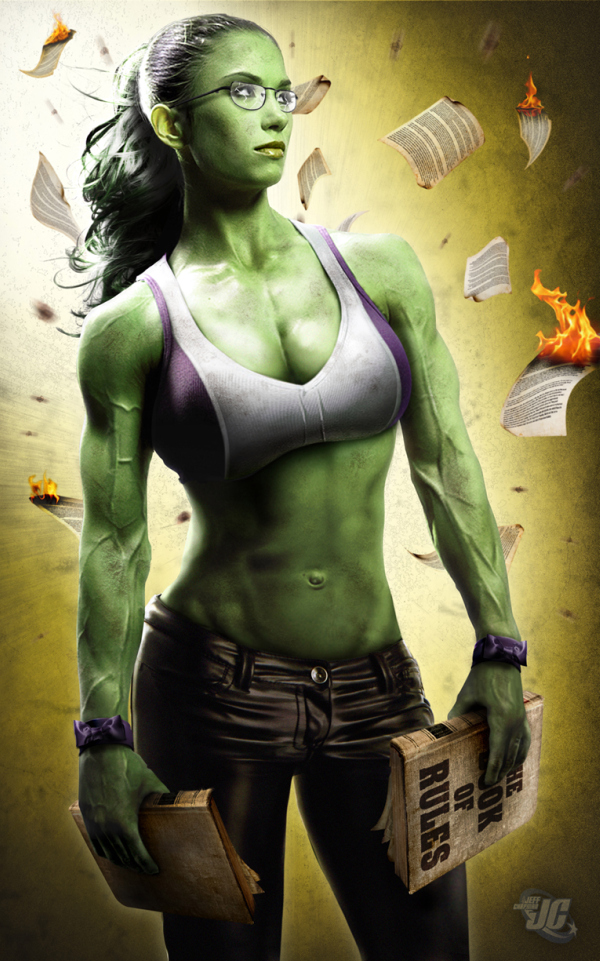 She Hulk by Jeff Chapman