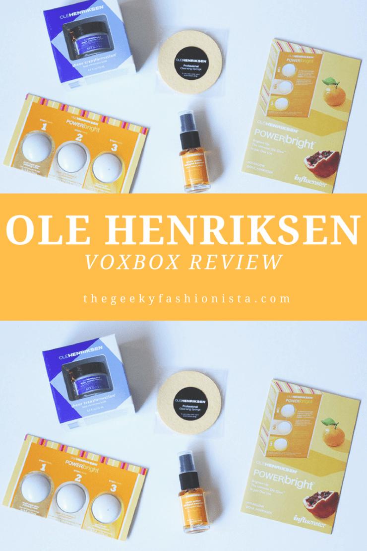 Ole Henriksen VoxBox Review