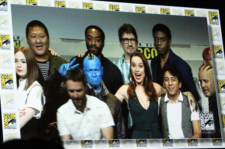 Comic Con Marvel Panel