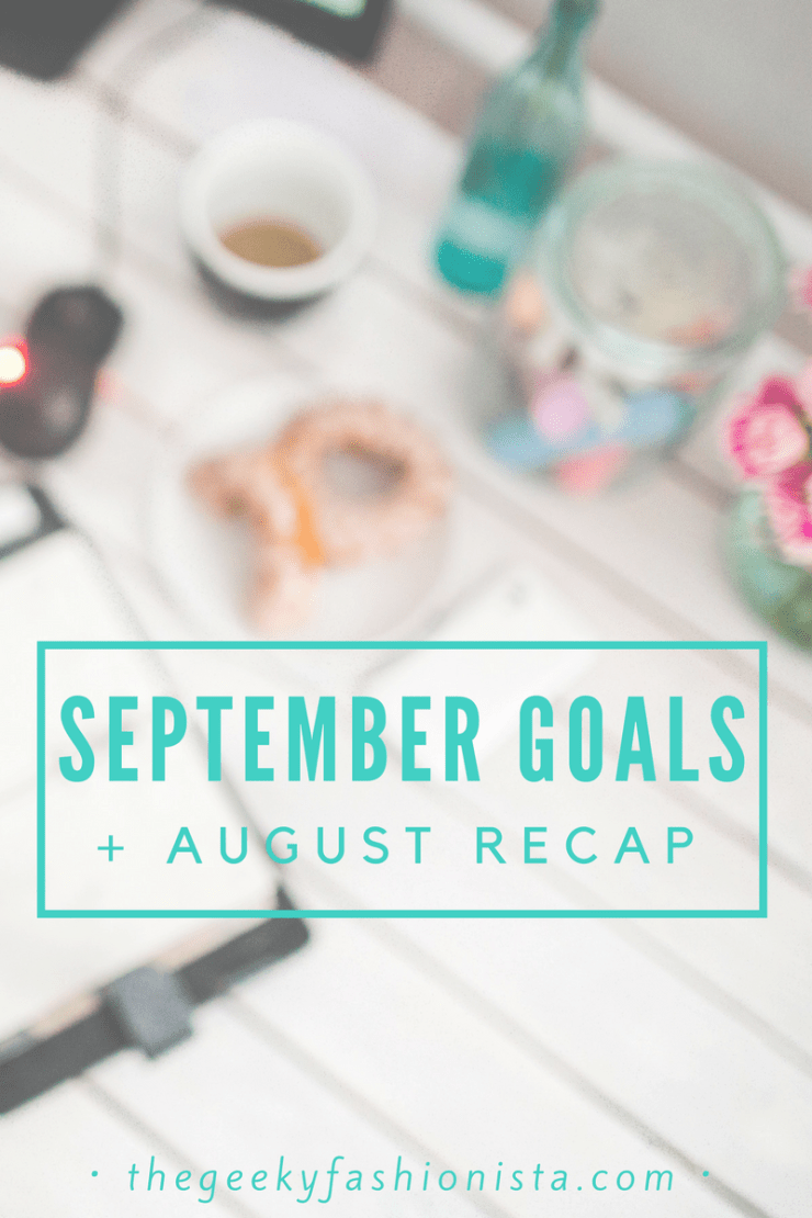 September Monthly Goals