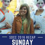 San Diego Comic Con Sunday