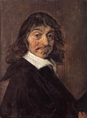 Portrait of René Descartes by Frans Hals - radical skepticism - superknowledge