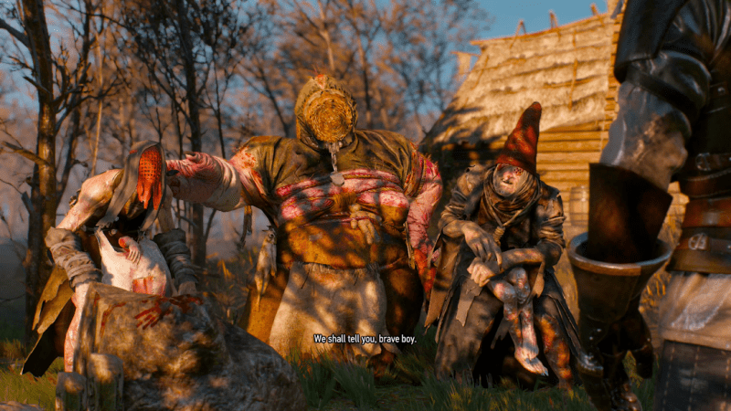 The Witcher 3: Wild Hunt good characters - CD Projekt RED