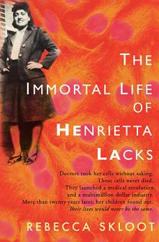 The Immortal Life of Henrietta Lacks book cover - Rebecca Skloot
